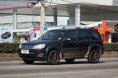 Частная машина, избежание Форда, автомобиль Suv для городского потребителя стоковое фото rf