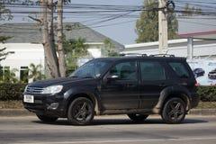 Частная машина, избежание Форда, автомобиль Suv для городского потребителя стоковая фотография
