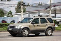 Частная машина, избежание Форда, автомобиль Suv для городского потребителя стоковое изображение rf