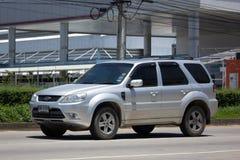 Частная машина, избежание Форда, автомобиль Suv для городского потребителя стоковые изображения rf