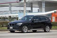 Частная машина BMW X1 Стоковое Изображение RF