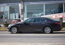Частная машина, Lexus LS 500H Lexus премиум-бренд от Тойота Стоковое Изображение