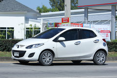 Частная машина, Mazda 2 Стоковая Фотография