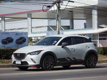 Частная машина, Mazda CX-3, cx3 Стоковое Изображение