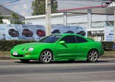 Частная машина, Toyota Celica Стоковая Фотография RF
