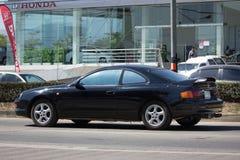 Частная машина, Toyota Celica Стоковые Фотографии RF