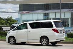 Частная роскошь Van Тойота Alphard Стоковая Фотография RF