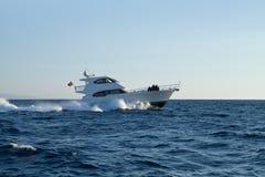 Частная яхта мотора Стоковое фото RF