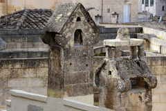 Частность городка Matera Стоковые Изображения