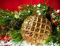 Частность украшений рождества Стоковое Изображение