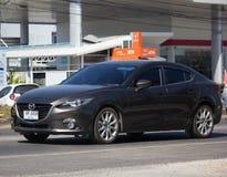 Частный автомобиль города, Mazda 3 Стоковые Фото