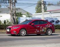 Частный автомобиль города, Mazda 3 Стоковые Изображения