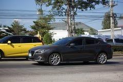Частный автомобиль города, Mazda 3 Стоковое Фото