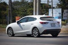Частный автомобиль города, Mazda 3 Стоковые Изображения RF