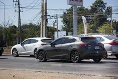 Частный автомобиль города, Mazda 3 Стоковое Изображение RF