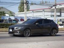 Частный автомобиль города, Mazda 3 Стоковая Фотография