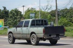Частный автомобиль приемистости Isuzu KB старый Стоковое фото RF