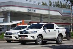 Частный автомобиль Тойота Hilux Revo грузового пикапа Стоковые Фотографии RF