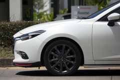 Частный автомобиль Eco, Mazda2 Стоковое Изображение RF