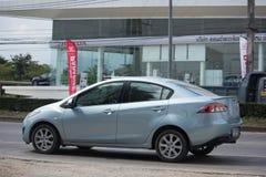 Частный автомобиль Mazda 2 Eco Стоковое Изображение RF