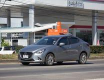 Частный автомобиль Mazda 2 Eco Стоковое фото RF