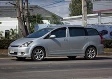 Частный автомобиль MPV, желание Тойота стоковые изображения rf