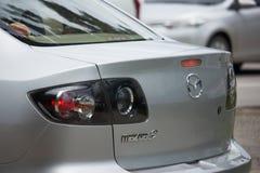 Частный автомобиль города, Mazda 3 Стоковая Фотография RF
