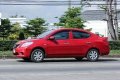 Частный автомобиль Eco, Nissan Almera Стоковая Фотография