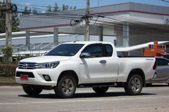 Частный бегун Тойота Hilux Revo автомобиля грузового пикапа Pre Стоковое Фото