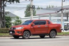 Частный бегун Тойота Hilux Revo автомобиля грузового пикапа Pre Стоковое фото RF