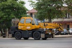 Частный вагон с краном TADANO Crevo 100 Стоковые Фотографии RF