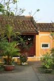 Частный дом - Hoi - Вьетнам Стоковая Фотография RF