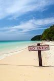 Частный пляж на острове Maiton, Таиланде Стоковые Фото