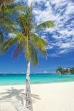 Частный пляж Стоковое Изображение RF