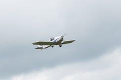 Частный самолет припаркован стоковое фото