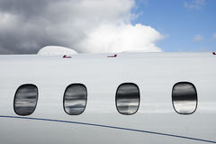 Частный самолет VIP Стоковые Изображения RF