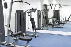 Частный спортзал в запасной комнате Стоковые Фото