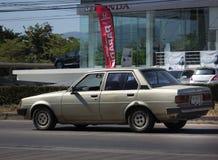 Частный старый автомобиль, Toyota Corolla Стоковое Фото