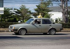 Частный старый автомобиль, Toyota Corolla Стоковое фото RF