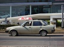 Частный старый автомобиль, Toyota Corolla Стоковые Фотографии RF