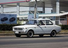 Частный старый автомобиль, Toyota Corolla Стоковые Изображения RF