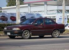 Частный старый автомобиль, Toyota Corolla Стоковое Изображение