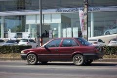 Частный старый автомобиль, Toyota Corolla Стоковые Фото