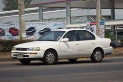 Частный старый автомобиль, Toyota Corolla Стоковое Изображение RF