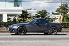 Частный Sporty автомобиль, Mazda MX5 Стоковые Изображения RF