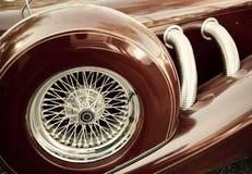 часть автомобиля ретро Стоковые Фото