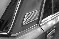 Часть автомобиля черная белизна стоковые изображения rf