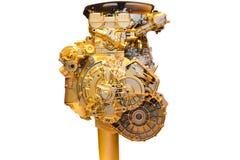 Часть автомобиля, золотая Стоковая Фотография RF