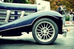 часть автомобиля ретро Стоковое Изображение