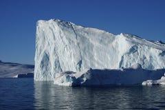 часть айсберга Гренландии Стоковое Изображение
